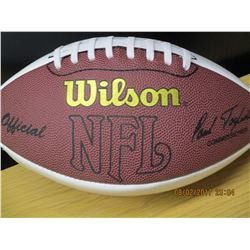 Eagles Autographed Football