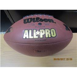 Wilson ALL*PRO Autographed Football