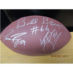 Wilson Eagles Autographed Football