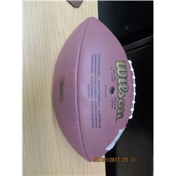 Wilson National Football League Autographed Football