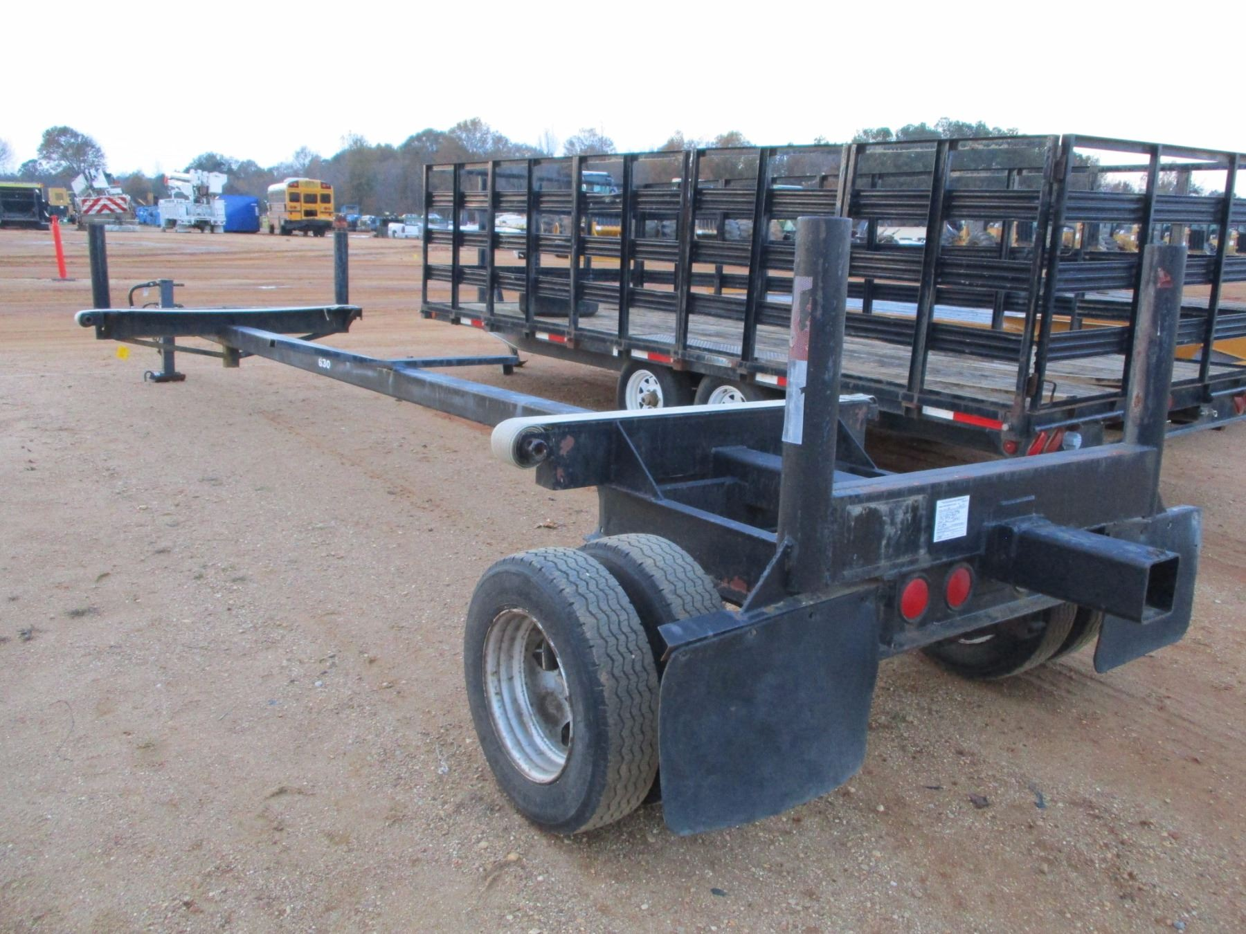 POLE TRAILER, - 30' LENGTH, S/A