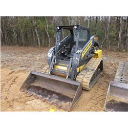 2012 NEW HOLLAND C232 SKID STEER LOADER, VIN/SN:42751 - CRAWLER, GP BUCKET, CANOPY, METER READING 1,