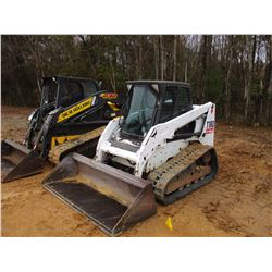 2012 BOBCAT T180 SKID STEER LOADER, VIN/SN:A3LL37053 - CRAWLER, GP BUCKET, ECAB W/AIR, METER READING