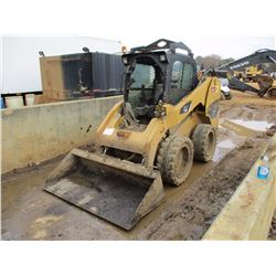 2008 CAT 246C SKID STEER LOADER, VIN/SN:JAY02850 - WHEELED, HIGH FLOW, XPS, GP BUCKET, CANOPY, METER
