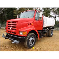 1998 FORD LOUISVILLE WATER TRUCK, VIN/SN:1FDXN80F6WVA15547 - S/A, CAT DIESEL ENGINE, 6 SPEED TRANS,