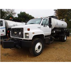 1995 CHEVROLET KODIAK ASPHALT DISTRIBUTOR, VIN/SN:1GBM7H1J1SJ104615 - S/A, CAT DIESEL ENGINE, 5+2 SP