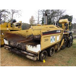 CAT AP-1000B ASPHALT PAVER, VIN/SN:7HN00308 - EXTEND-A-MAT 10-20B SCREED, SET UP FOR GRADE CONTROL,