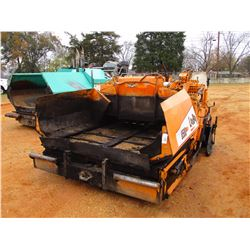 LEE BOY L8500T ASPHALT PAVER, VIN/SN:5393 - LEGEND 8'-10' SCREED, METER READING 3,585 HOURS