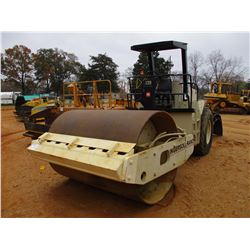 "INGERSOLL-RAND SD100D ROLLER, VIN/SN:140948 - VIBRATORY, 84"" SMOOTH DRUM, CANOPY, METER READING 2,19"