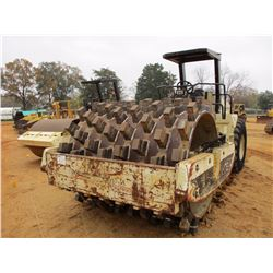 """1998 INGERSOLL-RAND SD-175F ROLLER, VIN/SN:155648 - VIBRATORY, 84"""" PADFOOT DRUM, CANOPY"""