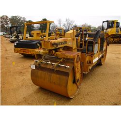 "DRESSER 708 ROLLER, VIN/SN:62646 - TANDEM, 50"" SMOOTH DRUM, WATER SYSTEM, METER READING 1,867 HOURS"