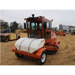 2014 BROCE CRT350 BROOM, VIN/SN:408612 - ECAB W/AIR, 8' BROOM, WATER TANK, METER READING 1,427 HOURS