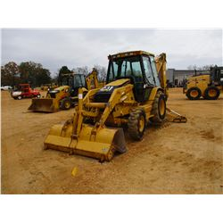"2002 CAT 416D LOADER BACKHOE, VIN/SN:BFP05368 - 4X4, E STICK, GP BUCKET, 24"" HOE BUCKET, ECAB W/AIR,"
