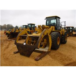 2004 CAT 966G SERIES II WHEEL LOADER, VIN/SN:ANZ00928 - CAT FORKS W/TOP CLAMP, ECAB W/AIR, 26.5-25 T