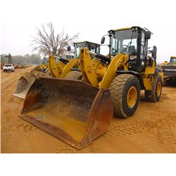 2014 CAT 938K WHEEL LOADER, VIN/SN:SWL02045 - QUICK COUPLER, GP BUCKET, AUX HYD, RIDE CONTROL, AUTO