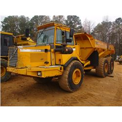 VOLVO A25C ARTICULATED DUMP, VIN/SN:61708 - ECAB W/AIR, 23.5R25 TIRES, METER READING 16,325 HOURS