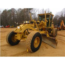 CAT 140H MOTOR GRADER, VIN/SN:2ZK00862 - 14' HYD MOLDBOARD W/TIP CONTROL, SET UP FOR GRADE CONTROL,