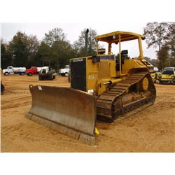2001 CAT D6M XL CRAWLER TRACTOR, VIN/SN:3WN02855 - 6 WAY BLADE, FINGER TIP CONTROL, CANOPY, METER RE