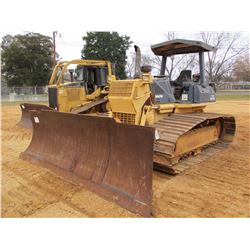KOMATSU D61PX-12 CRAWLER TRACTOR, VIN/SN:B3156 - 6 WAY BLADE, CANOPY, METER READING 5,982 HOURS