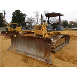 KOMATSU D61PX-12 CRAWLER TRACTOR, VIN/SN:B3116 - 6 WAY BLADE, CANOPY, METER READING 7,758 HOURS