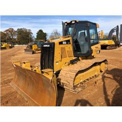 2014 CAT D5K2 LGP CRAWLER TRACTOR, VIN/SN:KYY00822 - 6 WAY BLADE, ECAB W/AC, METER READING 1,498 HOU