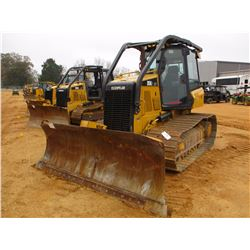 2012 CAT D5K2 LGP CRAWLER TRACTOR, VIN/SN:KYY00183 - 6 WAY BLADE, SYSTEM 1 U/C, SWEEPS, REAR SCREEN,
