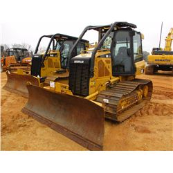 2012 CAT D4K LGP CRAWLER TRACTOR, VIN/SN:RRR00452 - 6 WAY BLADE, SYSTEM 1 U/C, ECAB W/AIR, SWEEPS, R
