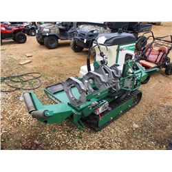 2010 MCELROY TRAC STAR 28 FUSION MACHINE, - TRACK, 20 HP DIESEL ENGINE, METER READING 771 HOURS