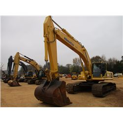 "2011 KOMATSU PC450LC-8 HYDRAULIC EXCAVATOR, VIN/SN:A10222 - 11' STICK, 72"" BUCKET, REAR CAMERA, ECAB"