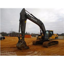 "2013 VOLVO EC300DL HYDRAULIC EXCAVATOR, VIN/SN:210762 - 12'-4"" STICK, 55"" BUCKET, AUX HYD, REAR CAME"