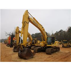 2009 KOMATSU PC300LC-8 HYDRAULIC EXCAVATOR, VIN/SN:A90843 - 13' STICK, 60' BUCKET, REAR CAMERA, ECAB