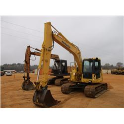 "2007 KOMATSU PC138US-8 HYDRAULIC EXCAVATOR, VIN/SN:20795 - 9'10"" STICK, 34"" BUCKET, AUX HYD, REAR CA"