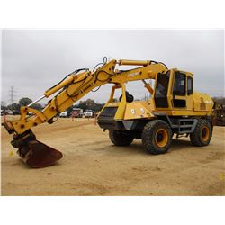 "2010 BADGER 1085C WHEELED EXCAVATOR, VIN/SN:100702 - 60"" CLEANOUT BUCKET, WRIST-A-TWIST, ECAB W/AIR,"