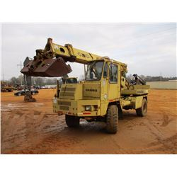 "GRADALL G3WD WHEELED EXCAVATOR, VIN/SN:0138243/G87D157 - 70"" CLEANOUT BUCKET, ECAB, 18-22.5 TIRES"