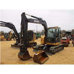 "2014 JOHN DEERE 75G HYDRAULIC EXCAVATOR, VIN/SN:015065 - 7' STICK, 24"" BUCKET, 50"" CLEAN OUT BUCKET,"