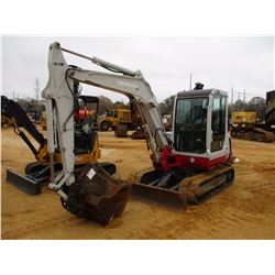 "TAKEUCHI TB145 MINI EXCAVATOR, VIN/SN:14517106 - 6' 6"" STICK, QUICK COUPER, 36"", 24"" & 12"" BUCKETS,"
