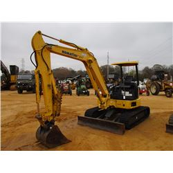 "2006 KOMATSU PC50 MR-2 MINI EXCAVATOR, VIN/SN:7267 6' 6"" STICK, 24"" BUCKET, THUMB, AUX HYD, BLADE, R"