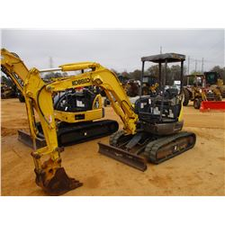 "2005 KOBELCO SK30SR-2E MINI EXCAVATOR, VIN/SN:PW10-23161 - 4' STICK, 18"" BUCKET, AUX HYD, BLADE, CAN"