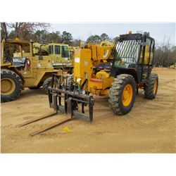 JCB 506C TELESCOPIC FORKLIFT, VIN/SN:587843 - 6,000# CAP, ECAB, 13.00-24 TIRES, METER READING 5,157