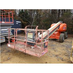 JLG 600S MANLIFT, VIN/SN:0300080248 - 4X4, 1,000# CAP, 60' HEIGHT, METER READING 2,910 HOURS