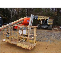 GROVE T66J MANLIFT, VIN/SN:253698 - 4X4, 66' MAX PLATFORM HEIGHT, 500# CAP, METER READING 2,796 HOUR