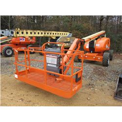 2007 JLG 600AJ TELESCOPIC ARTICULATING MANLIFT, VIN/SN:0300116195 - 4X4, 60' MAX HEIGHT, 49' MAX REA