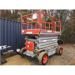 2007 SKYJACK SJ8243 MANLIFT, VIN/SN:343788 - 4X4, KUBOTA D1105 DIESEL ENGINE, 43' MAX HEIGHT, 5' EXT