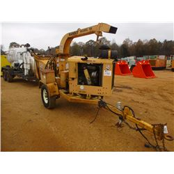 BANDIT 90 CHIPPER, VIN/SN:01V9286 - DIESEL ENG, MTD ON S/A TAG TRAILER (COUNTY OWNED)