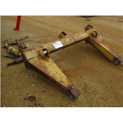 REAR RIPPER FOR CRAWLER TRACTOR