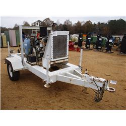 "WATER PUMP, VIN/SN:8092 - COMPLETE 4"", DIESEL ENGINE, MOUNTED ON S/A TRAILER, 4"" HOSE (COUNTY OWNED)"