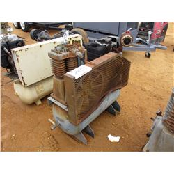 CURTIS AIR COMPRESSOR, - TANK MTD, KOHLER GAS ENGINE (COUNTY OWNED)