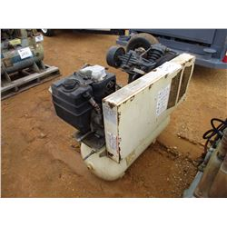 INGERSOLL-RAND AIR COMPRESSOR, - TANK MTD, KOHLER GAS ENGINE (COUNTY OWNED)