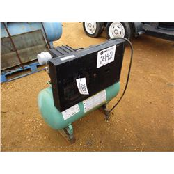 DAYTON AIR COMPRESSOR, - TANK MTD, ELECTRIC MOTOR (COUNTY OWNED)