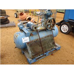 QUINCY MTD AIR COMPRESSOR, - ELECTRIC